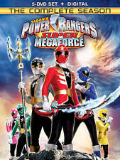 Power Rangers Super Megaforce: The Complete Season [DVD + Digital] New