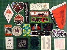 Burton Snowboard Sticker pack - set of 20 Burton snowboard stickers