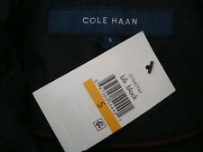 NWT COLE HAAN High Collar Belted Front Zip Quilted Down Fill Coat Jacket Sz S