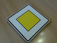 Vorfahrtstraße Verkehrszeichen Schild für Kinder Spielzeug wetterfest