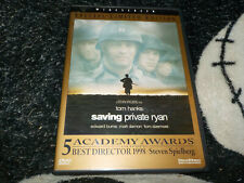 Saving Private Ryan Special Limited Edition Dvd +Inserts Tom Hanks Free Shipping