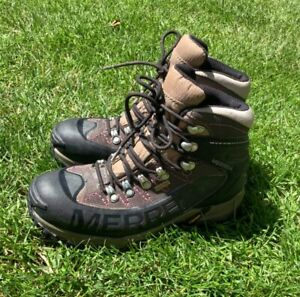merrell outbound womens mid walking boots vibram sole size UK5 EUR 38 Gore-tex
