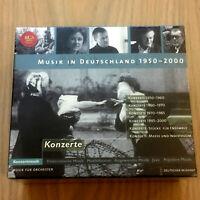 Musik in Deutschland 1950-2000 : Konzerte (6 x CD Box Set 2004) NEW & SEALED