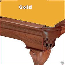 8' Gold ProLine Classic Billiard Pool Table Cloth Felt - SHIPS FAST!