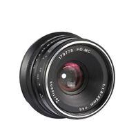 7artisans 25mm F1.8 Manual Focus Lens BLACK for m43 MFT m4/3 Panosonic Cameras