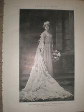 Printed photo actress Evelyn Millard in The Prisoner of Zenda 1895 Ref S
