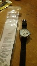 orologio unisex Jay baxter crono look bracciale silicone- quadrante bianco - C