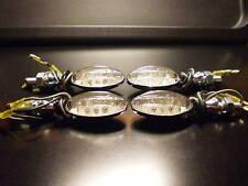 4XNEW CLIGNOTANT LED MINI CHROM BMW K1200S,K1200GT,K1200LT,R100R,R100,R100RS,R90