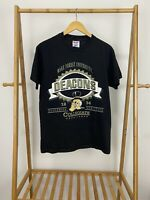VTG Hanes 90s Wake Forest University Demon Deacons Single Stitch T-Shirt Size M