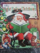 WHITMAN TELL-A-TALE CHILDRENS BOOK 1953 THE NIGHT BEFORE CHRISTMAS VERY NICE