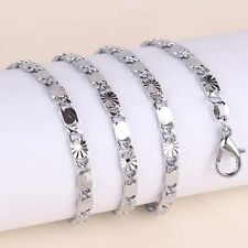 Chain -  Lovely White G/P Intricately Worked Chain 50 cm long