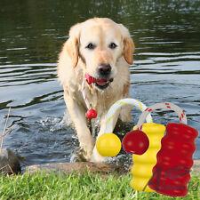 MOT ® - Divertente, Forte Gomma Naturale, floatable Gettare & Dog TIRO ALLA FUNE ai giochi 9 cm