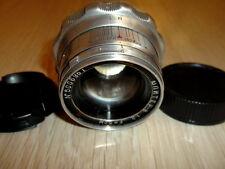 KMZ!1950! JUPITER-8 2/50mm Russian Rangefinder Lens screw M39 Leica #5006961