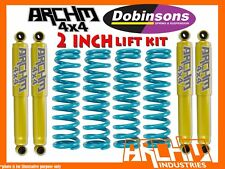 LIFT KIT NISSAN GQ/GU PATROL ARCHM4X4 & DOBINSONS SPRINGS 2INCH 50mm SUSPENSION