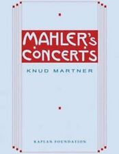 Mahler's Concerts - New - Martner, Knud - Hardcover