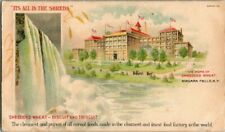 EARLY 1900'S. SHREDDED WHEAT-BISCUIT & TRISCUIT ADVERTISING POSTCARD CK8