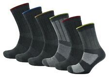 Mens Heavy Duty Thick Thermal Work Boot Crew Outdoor Socks Cotton Rich Size 7-11