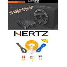 Hertz Dieci kit con amplificatore Hertz HCP2 + subwoofer Hertz DBX25 + KIT CAVI