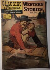 Classics Illustrated #62 Western Stories by Bret Hart (Hrn 167) 11/1966 Vg+