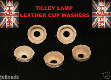 TILLEY LAMP CUP WASHERS X 5 TILLEY PUMP WASHERS PARAFFIN LAMP PARTS SERVICE KIT