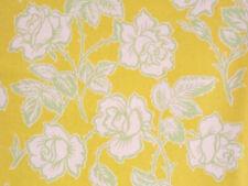 1YD POP GARDEN Wallpaper Roses HB06 Gold Heather Bailey Rose Free Spirit Fabric