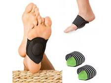 Pair Planter Fasciitis Foot Arch Pads Foot Care Comfort Supports Pain Relief