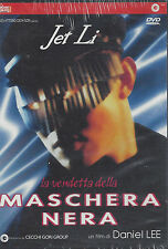 Dvd **LA VENDETTA DELLA MASCHERA NERA** con Jet Li nuovo 1999