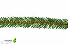 3m Bastelgirlande 3cm grün Drahtgirlande Tannengirlande Grasgirlande Weihnachten