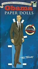 President Obama Paper Dolls by Tom Tierney. Dress the Obamas! (Paperback, 2008)