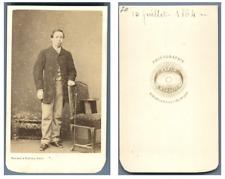 Bayard et Bertall, Monsieur Amédée de Rumford  CDV vintage albumen carte de visi