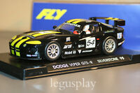 Slot Car Scx Scalextric Fly A6 Dodge Viper Gts-R Silverstone 98