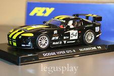 Slot car SCX Scalextric Fly A6 Dodge Viper GTS-R  Silverstone 98