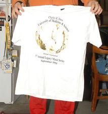 1991 Charles R Drew Jazz Fest T Shirt Screen Stars Black Mint New Max Roach 2Xl