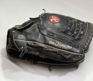 Rawlings  14 Inch Supersize Black Softball Baseball Glove RSGXLB Right Thrower