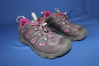 Keen Girls Closed Toe Breathable Hiking shoes  Purple Pink Youth Size 1 Outdoor
