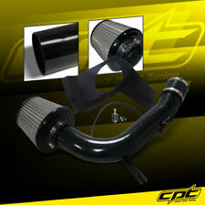 For 08-14 Impreza WRX/STI 2.5L 4cyl Black Cold Air Intake + Red Filter Cover