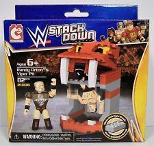 RANDY ORTON VIPER PIT WWE STACKDOWN UNIVERSE BRICK SET MISB C3 82pcs 2014 HTF