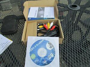 USB2.0 grabber.new in box.video.audio manual.