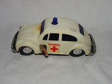 Volkswagen VW Käfer Kunststoffauto Ambulance - Uhrwerk - Sirene - Hong Kong