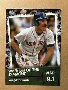 "2020 Topps  Baseball ""WARriors of the Diamond"" Wade Boggs BLACK VERSION /299"