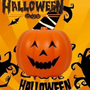 XXL LED Pumpkin Lantern Light Up Lamp Halloween Party Prop Funny Outdoor Decor