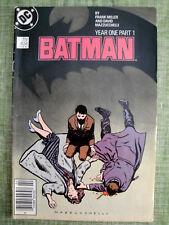 Batman #404 Year One Part 1/1st Modern Catwoman 1987 DC Comics/Frank Miller
