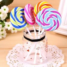 Creative Lollipop Eraser Rubber Pencil Candy Stationery Cute Gift 1pc