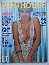 Penthouse June 1987, Samantha Fox, Connie Gauthier, Patty Mullen, Susan Napoli