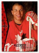 1994-95 Upper Deck SP Premier Prospects JEROME IGINLA Rookie RC Flames #181 (b)