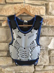 AXO Duo Roost Guard Blue/Black Safety Vest - JUNIOR Size XL Dirt Bike Racing BMX