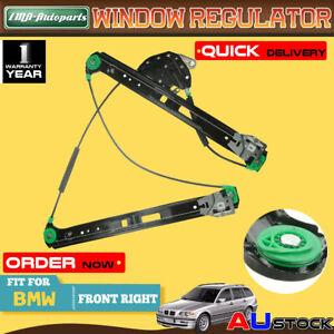 Front Right Window Regulator w/o Motor for BMW E46 316i 318i 320i 325i 328i 330d