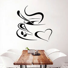 Wall Vinyl Decal Sticker Coffee Aroma with Love Home Design Kitchen Decor m271