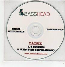 (FF439) Datsik, 3 Fist Style - DJ CD