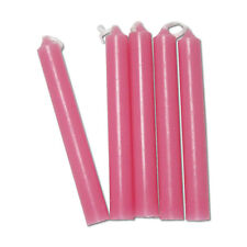 Pink Chime Candles - Lot of 20 - Wiccan Wicca Pagan Magical Ritual Supplies